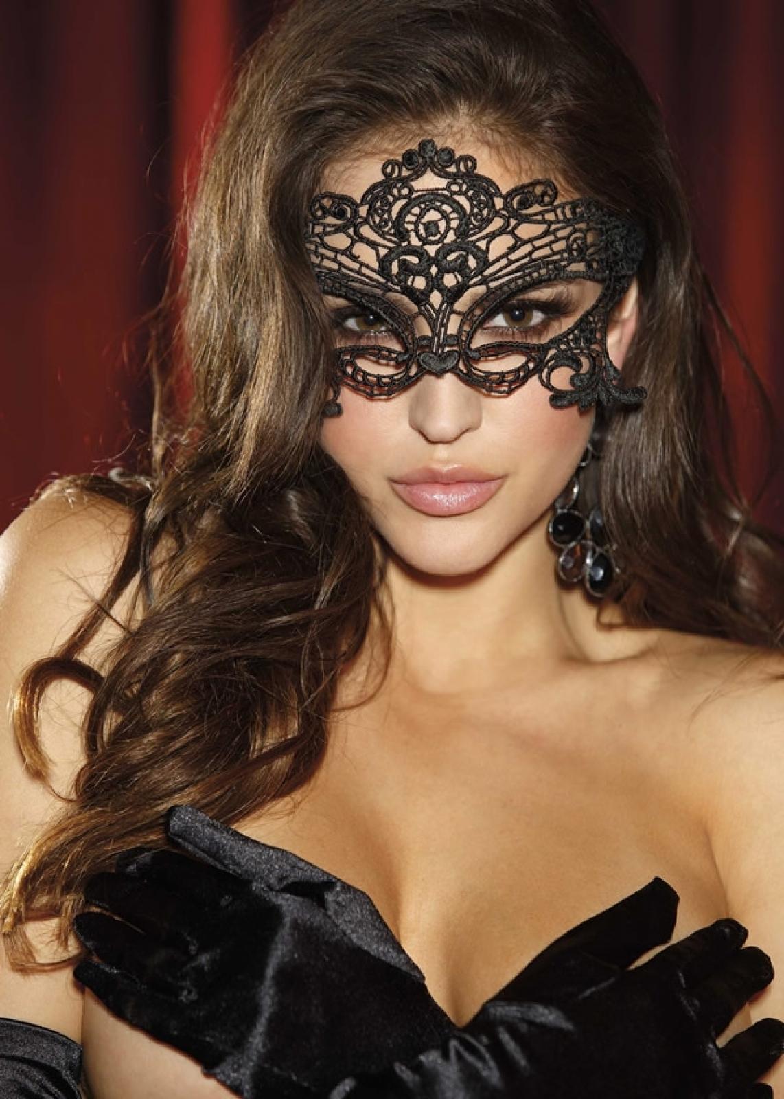 Эротические кружевные маски 8 фотография