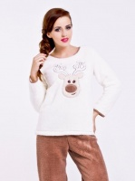 Пижама 6090 плюшевая с котом  купить в Киеве и Украине 70e11fb6b5a0e